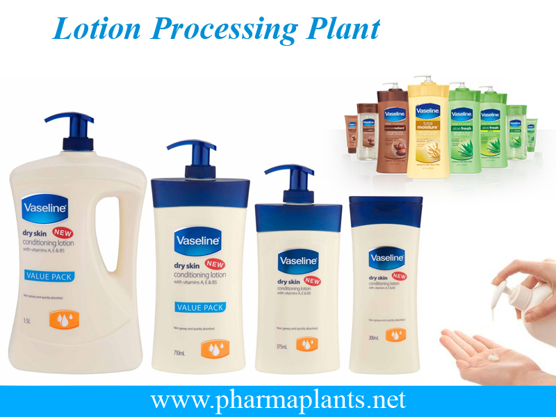 Lotion Processing Plant Manufacturer