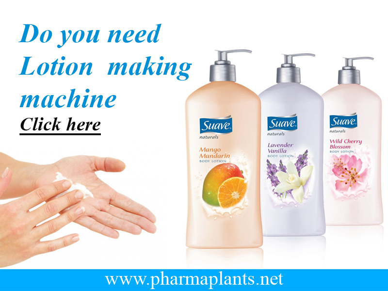 Lotion Making Machine, Lotion Making Machine India