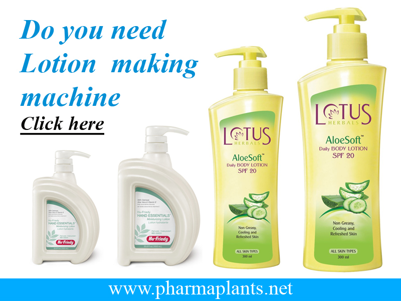 Lotion Processing Machine, Lotion Process Machine