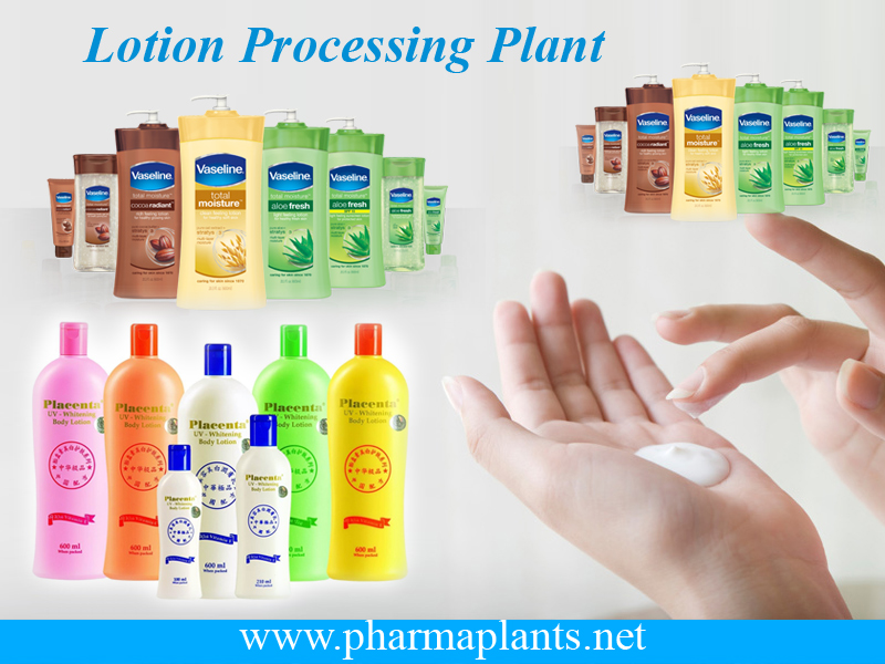 Lotion Processing Plant, Lotion Processing Plant Supplier